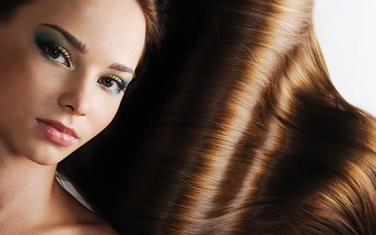 народное средство для блеска волос