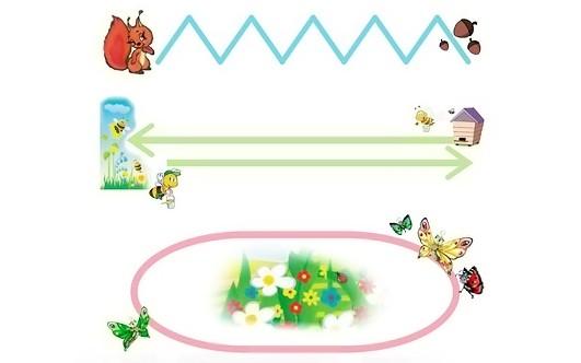 Зрительная гимнастика в картинках для детей
