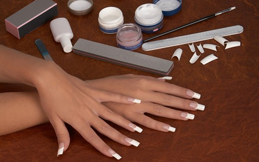 Все что нужно для наращивания ногтей типсами