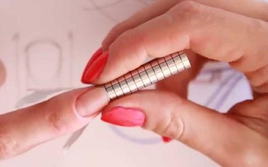 Акриловые ногти пошаговое наращивание ногтей