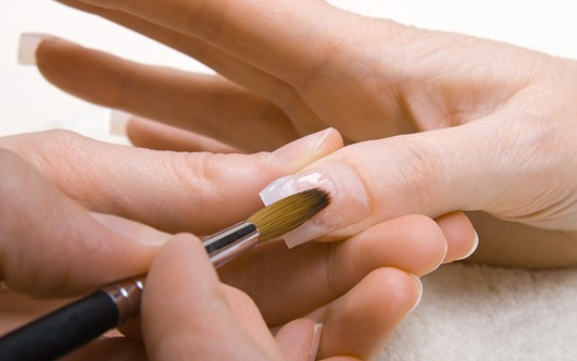 Как сделать ногти на типсах в домашних условиях 3