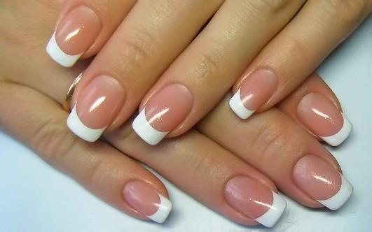 фото ногтей с френчем и рисунком фото