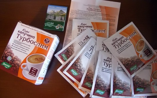 турбослим кофе для похудения чай