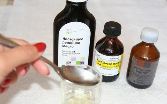 косторовое масло для росто волос