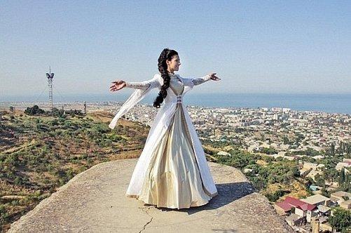 Платье невесты в дагестане