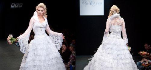 Российское свадебное платья