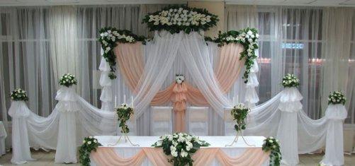 Как прикрепить  на свадебный стол