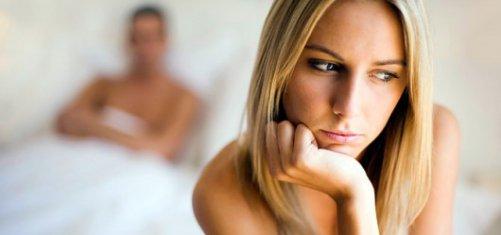 Женщина испытывает настоящий оргазм