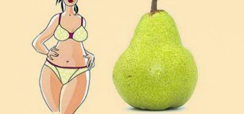 как похудеть типу груша