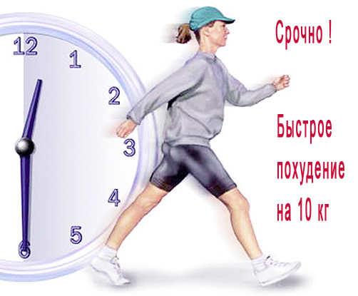 как похудеть шаги