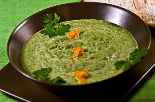 блюда из шпината для похудения